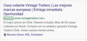 Casas Rodantes Vintage Trailers Chile